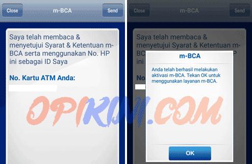 Cara Daftar Mobile Banking Bca Dan Aktivasi M Bca Di Android Opikini