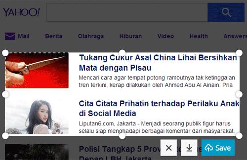 Fitur Screenshots Mozilla Firefox