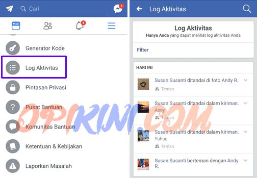 Cara Menghapus Ditandai Di Facebook Lewat Hp Android Opikini