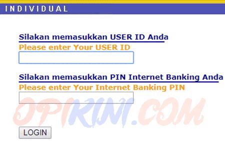 Aktivasi Akun Internet Banking BCA