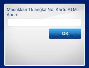 nomor kartu ATM BCA