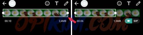 Cara Mengubah Video Menjadi GIF di WhatsApp
