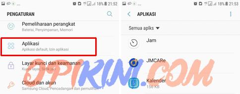 Cara Hapus Aplikasi Android Di Samsung J7