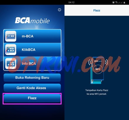 Cara Cek Saldo Flazz BCA di HP Android atau iPhone