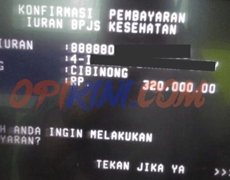 Bayar Iuran BPJS di ATM BTN