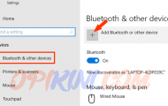 +Add Bluetooth or other devices