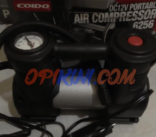 Harga dan SpesifikasiPompa Ban Mobil Portable Coido 6256