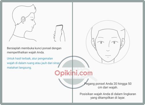 MengaktifkanPengenalan Wajah Pada Samsung Galaxy J6