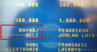 Cara Membeli Token Listrik Di ATM Mandiri Lama atau Link