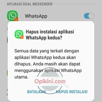 Dual Messenger Pada HP Samsung