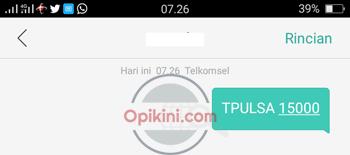 Transfer Pulsa Telkomsel Lewat SMS
