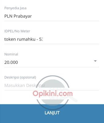 Membeli Token PLN Prabayar Lewat Mandiri Online