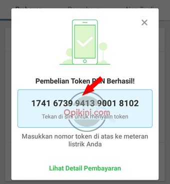 kode token listrik