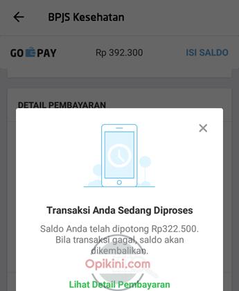 Transaksi Sedang Diproses