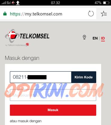 Cara Cek NIK No HP Telkomsel Online