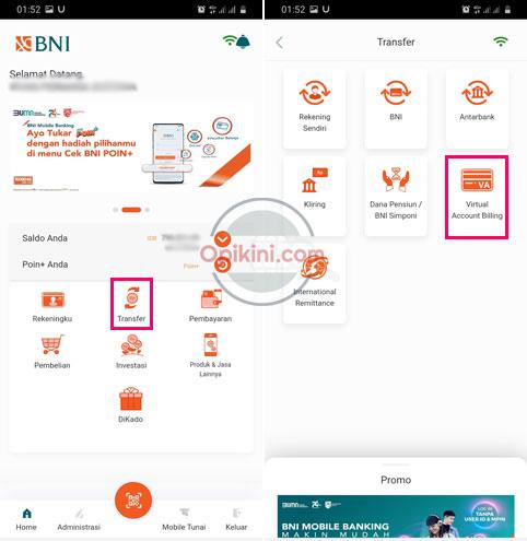 Cara Top Up OVO Lewat BNI Mobile Banking Begini Langkahnya