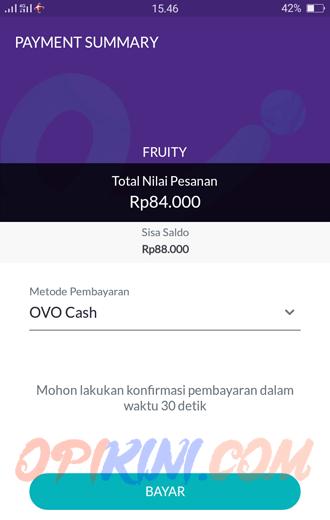 belanja Pakai OVO Cash