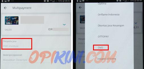 Cara Top Up OVO Lewat Mandiri Online di HP Android