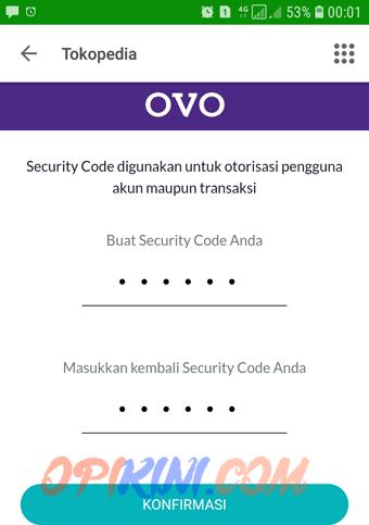 membuat security code