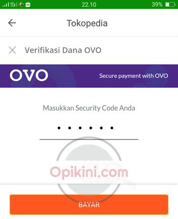 Cara Bayar Tokopedia Pakai OVO Cash dan OVO Points - Opikini