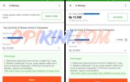 isi ulang kartu e-money Mandiri di Tokopedia
