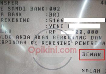 Cara Transfer BCA ke BRI atau Bank Lain Via ATM BCA