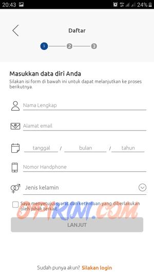 Cara Daftar Aplikasi BRImo BRI
