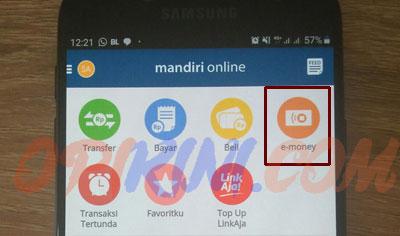 Top Up E-Toll Mandiri Lewat HP Menggunakan Mandiri Online