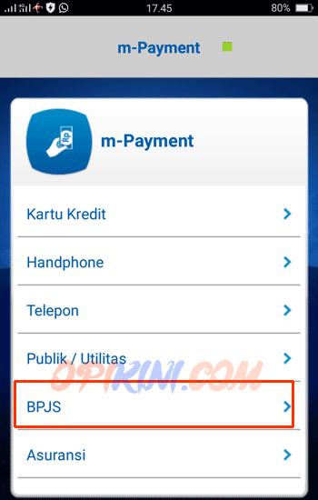 Cara Bayar Bpjs Lewat Bca Mobile Opikini