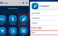Cara Bayar BPJS Lewat BCA Mobile