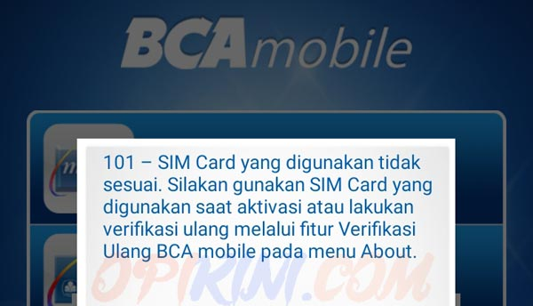 Cara Mengatasi Sim Card Tidak Terbaca BCA Mobile Android