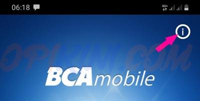Buka aplikasi BCA Mobile