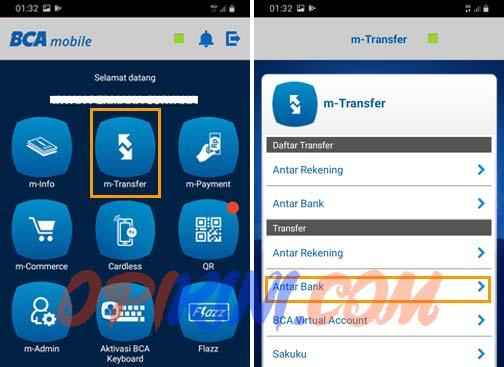 Cara Top Up BRIZZI via Mobile Banking BCA