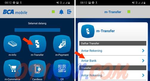 Daftar Transfer - Antar Bank