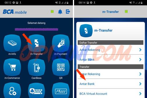 Cara Transfer BCA Ke Rekening Ponsel CIMB