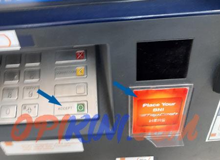 Cara Update Saldo Tapcash BNI di ATM Setelah Top Up Dari Laptop/PC