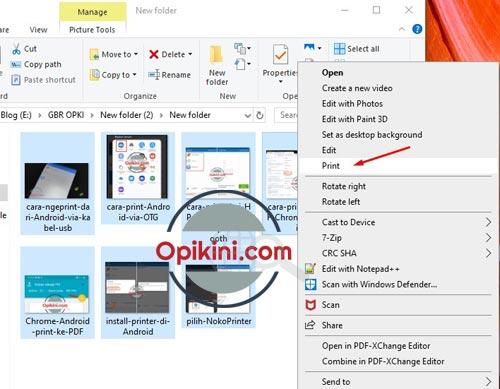 Cara Mengubah Jpg Hasil Scan Ke Pdf Di Windows 10 Opikini