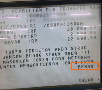 Cara Beli Token Listrik Lewat ATM BCA
