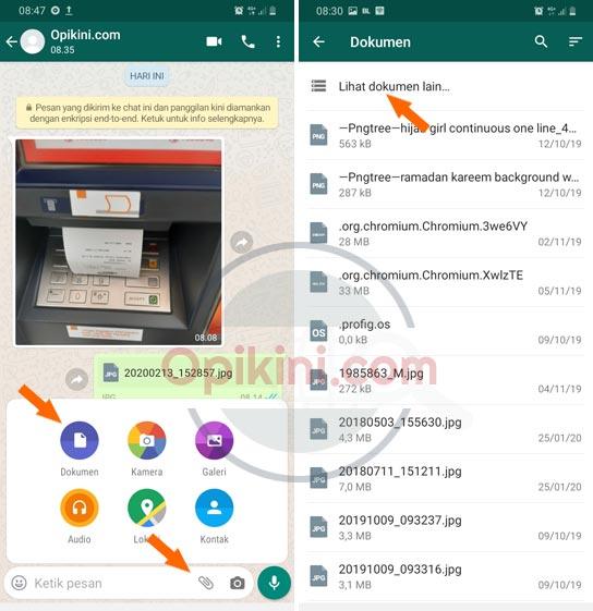 Cara Kirim Gambar Lewat WhatsApp Agar Kualitasnya Tidak Berkurang
