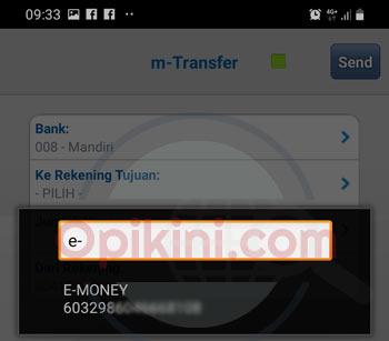 pilih kartu e-money