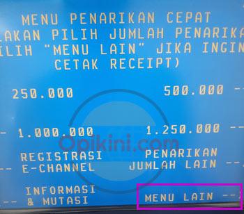 Top Up ShopeePay Lewat ATM BNI