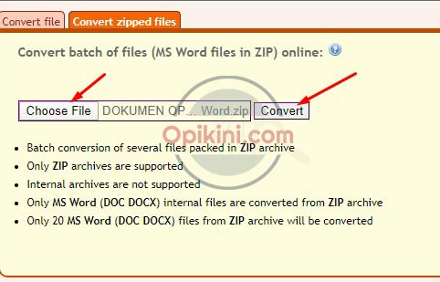 Cara Mengubah File Word Ke Pdf Sekaligus Banyak Opikini
