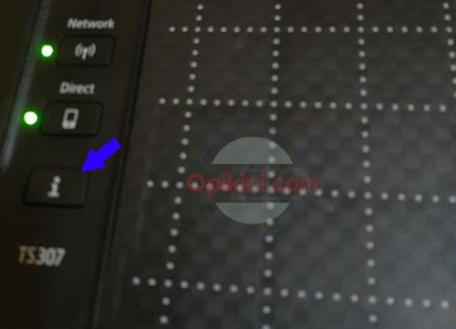 Cara Menyambungkan HP Android Ke Printer Canon TS307 Via WiFi