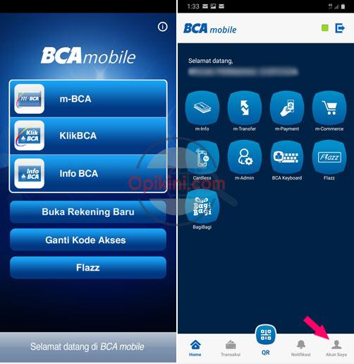Aktivasi Debit Online BCA Mastercard Lewat HP