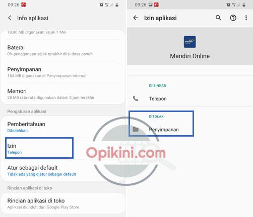 Mengatasi Mandiri Online Gagal Verifikasi Sms Di Android Opikini