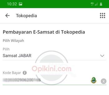 pilih Samsat Jabar