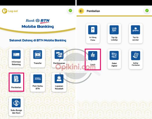 Cara Beli Token Listrik Lewat BTN Mobile Terbaru