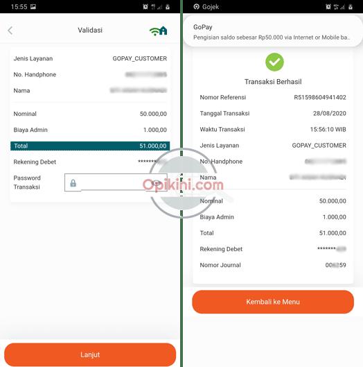 Cara Top Up GoPay Lewat BNI Mobile Banking Ini Panduannya