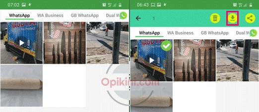 Cara Download Status WhatsApp Teman Di HP Android Pakai Aplikasi