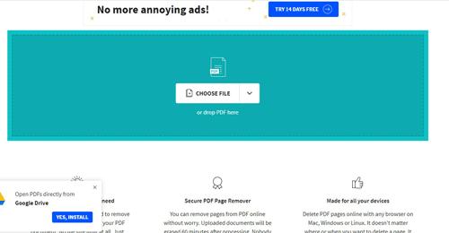 Cara Menghapus Halaman File PDF Online